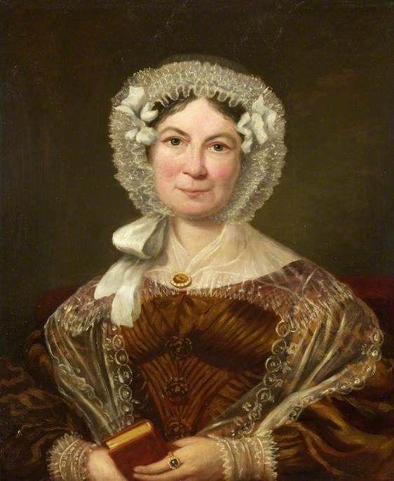 Unbekannter Künstler: Porträt einer Dame (vermutlich Mary Stancomb), um 1830