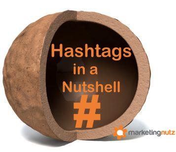 Social Media Hashtags in a Nutshell - @pammktgnut