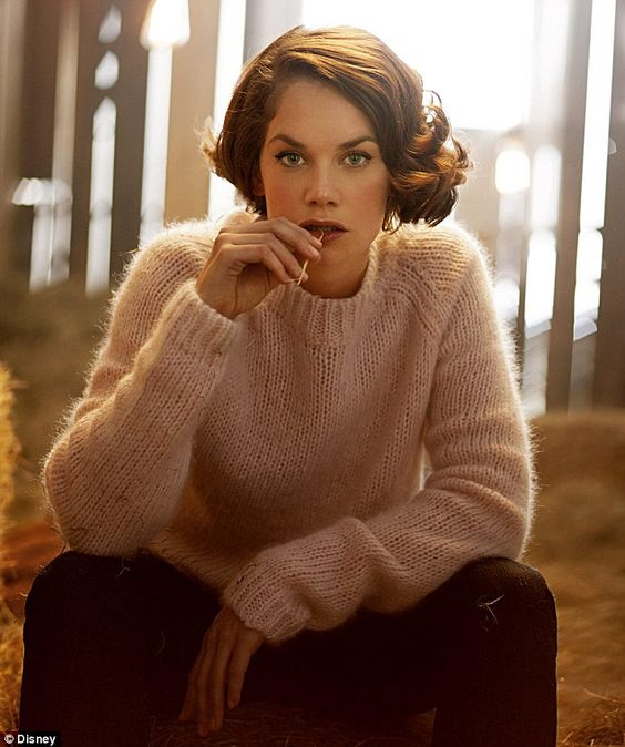 Ruth Wilson. She likes to perform her own stunts and says she does her best work when she's scared.