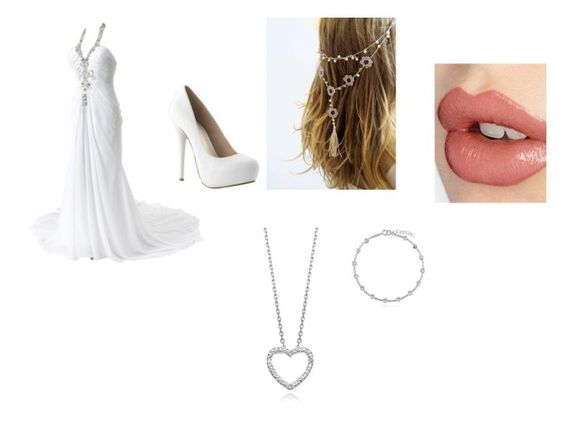 """Simple wedding"" by alphaz-1 ❤ liked on Polyvore"