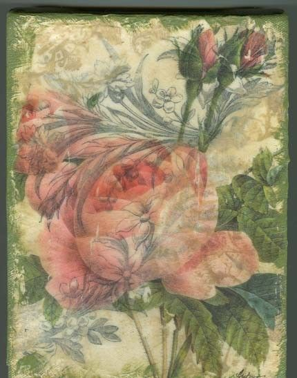 ROMANTIC PINK ROSE COLLAGE