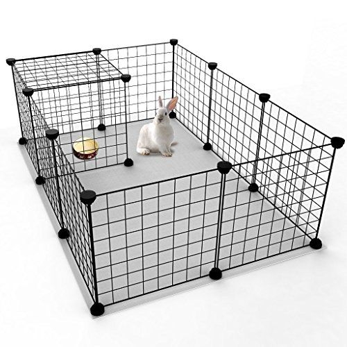 Cat Fence Indoor Customizable Playpen By Maginels Diy Wire Exercise Pen Yard Fence Kennel For Small Pets 12 Panels Dog Playpen Indoor Small Pets Dog Playpen