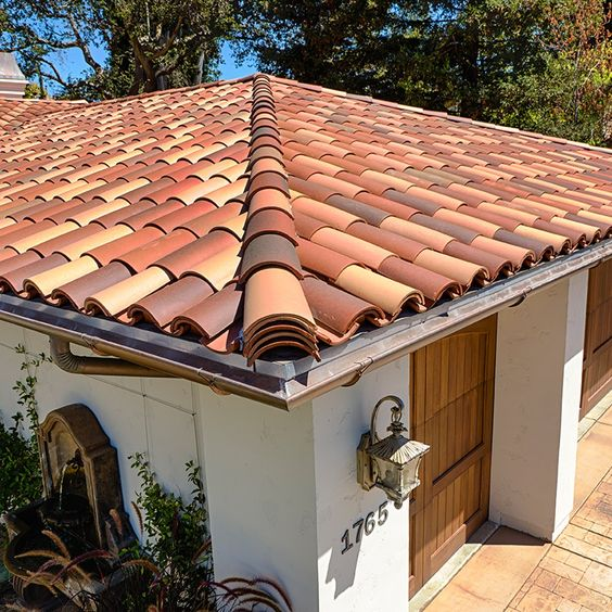 Roof Tiles Beauty And Clay On Pinterest