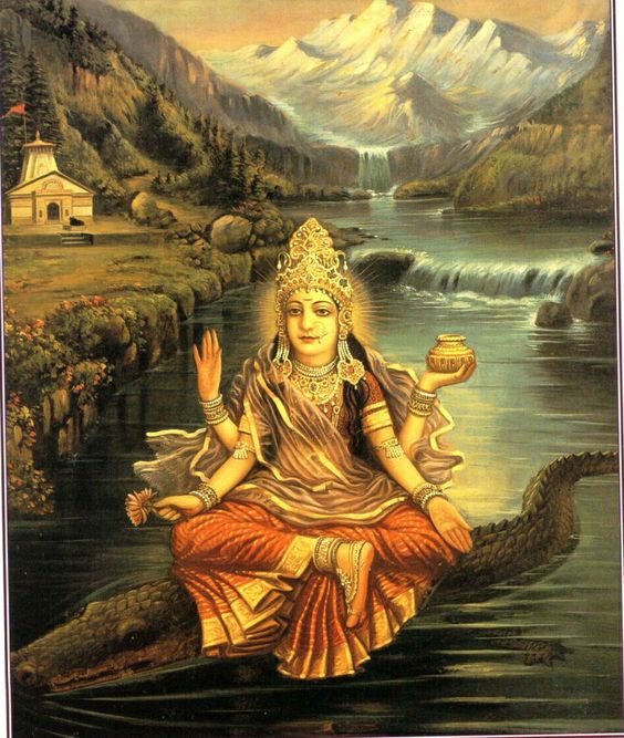Akhilandeshvari — The Goddess Never-Not-Broken: