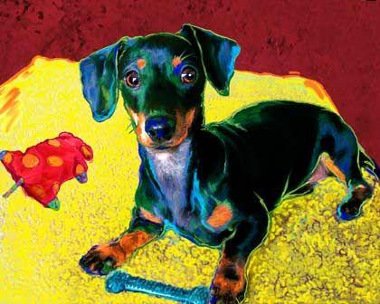 dachshund_art1.jpg 420×336 pixeles
