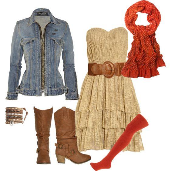 I like the dress belt and boots