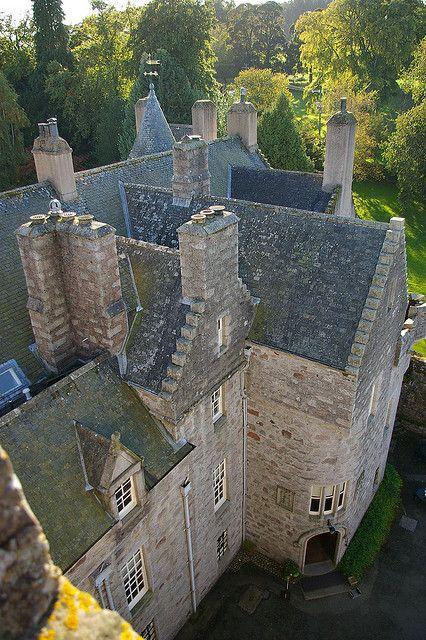 """bonitavista: """"Drum Castle, Scotland photo via brenda """""""