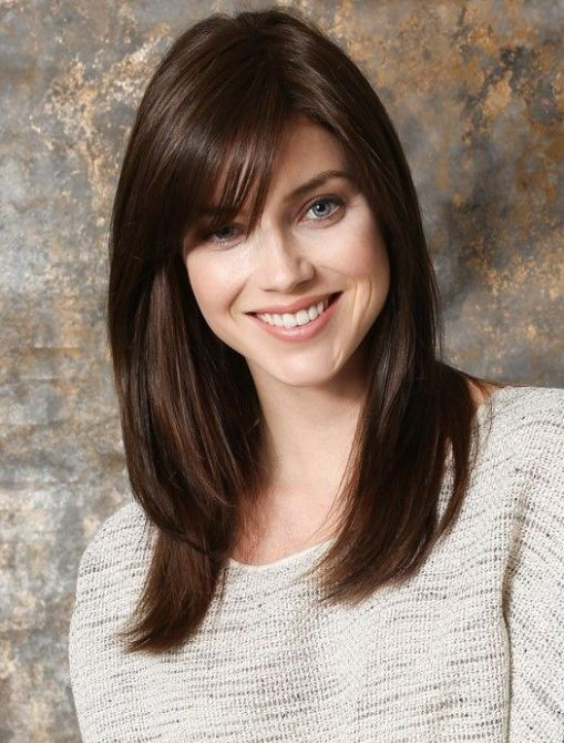 Best Of Haircuts Medium Length Hair With Bangs Medium Length Hair Styles Thick Hair Styles