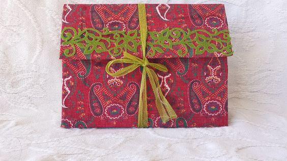 Handmade Junk Journal with Handmade Parchment Paper on http://www.trehanstreasures.com/