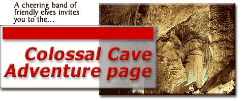 Colossal Cave Adventure page