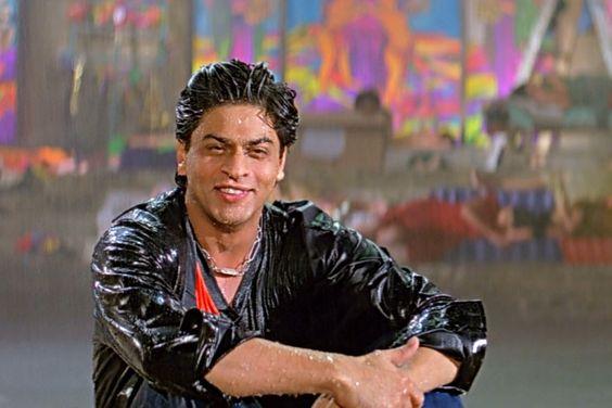 Image result for shahrukh khan wet shirt