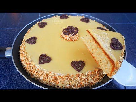 Cake كيك العيد كيكة المقلاة بيضة واحدة فقط هشة وسريعة التحضير حلويات العيد 2019 كيكة سهلة وسريعة Youtube Food Desserts Cheesecake