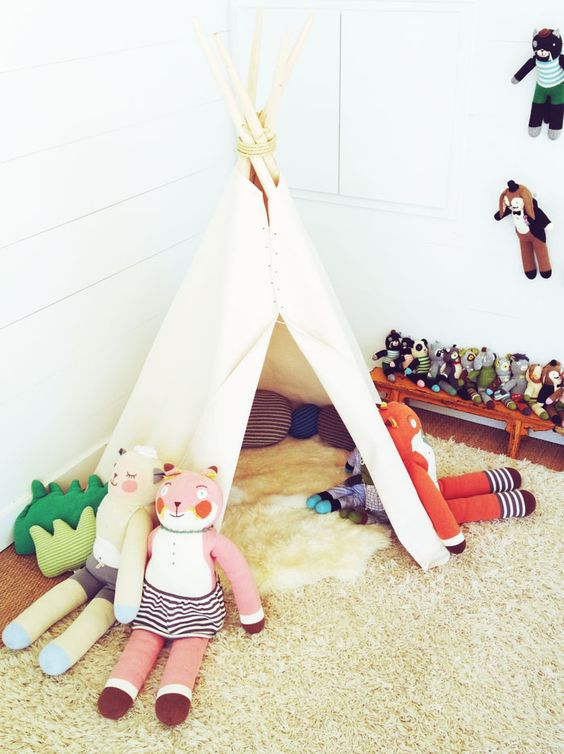 blabla kids: HOUSE IN HABIT TEEPEE!