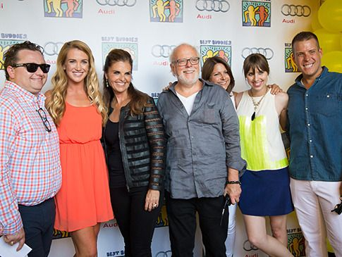 Photo: Sean Molloy, Tamara Torlakson, Maria Shriver, Carl Bendix, Susie Sheinberg, Jaclyn Mathison, and Justin Knighten. Powered by revered journalist and best-selling author Maria Shriver, Team Maria hosted its annual benefit at the Montage Beverly Hills on July 13, 2014 to support Best Buddies International, an organization committed to serving individuals with intellectual and developmental disabilities. Our event was sponsored by Los Angeles Confidential.