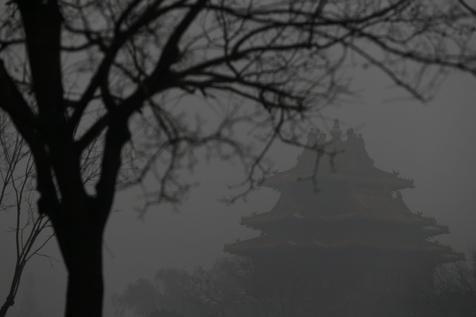 Pequim bateu recorde de poluição pelo terceiro dia consecutivo (foto: EPA)