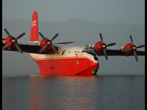 The Largest Production Flying Boat in The World -  Martin JRM Mars One
