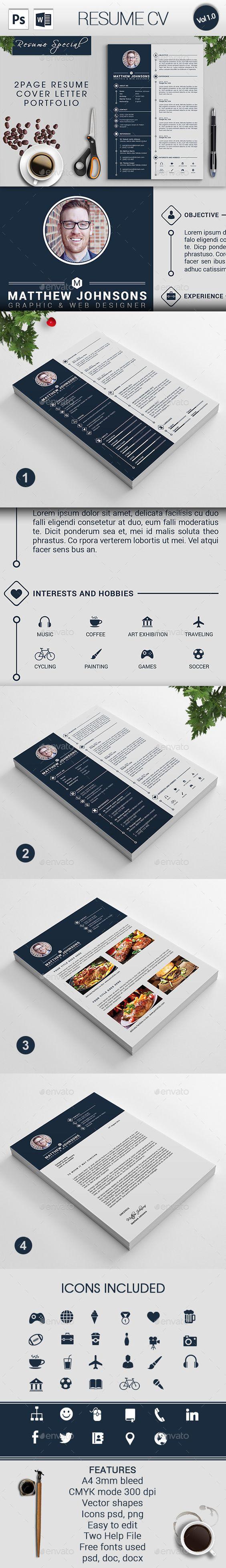 resume cv template psd design graphicriver net resume cv template psd design graphicriver net