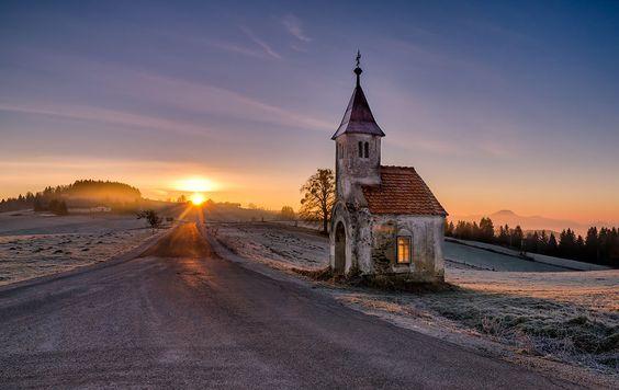 Photo by saintek #church #faith #road #journey #holiday #vacation #photography