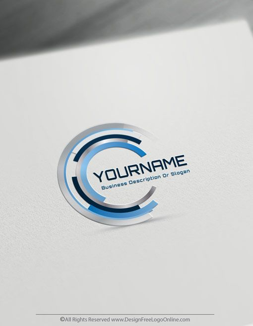 Create A Focus Logo For Free Business Target Logo Template Focus Logo Logo Design Free Templates Logo Templates