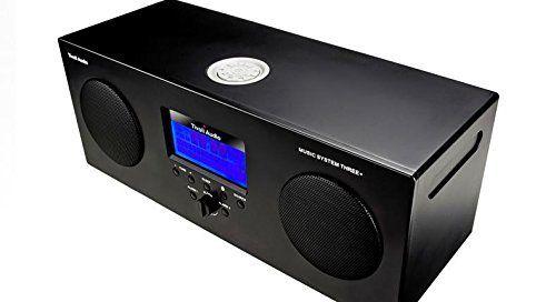 Sistema stereo portatile Tivoli Audio Modello: Music System Three+BLACK,DAB+,BLUETOOTH RICEZIONE FM / RICEZIONE/ SVEGLIA / INGRESSO AUX / TELECOMANDO / STEREO / RESISTENTI ALLE INTEMPERIE: Amazon.it: Elettronica