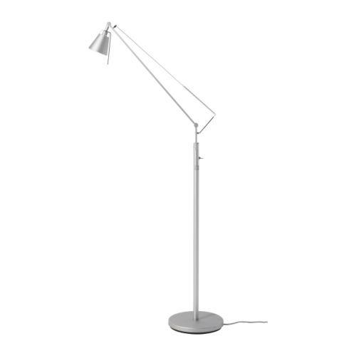 Ikea Halogen Floor Lamp: HUSVIK Floor/reading lamp from IKEA. $79.99 Product dimensions Height: 55