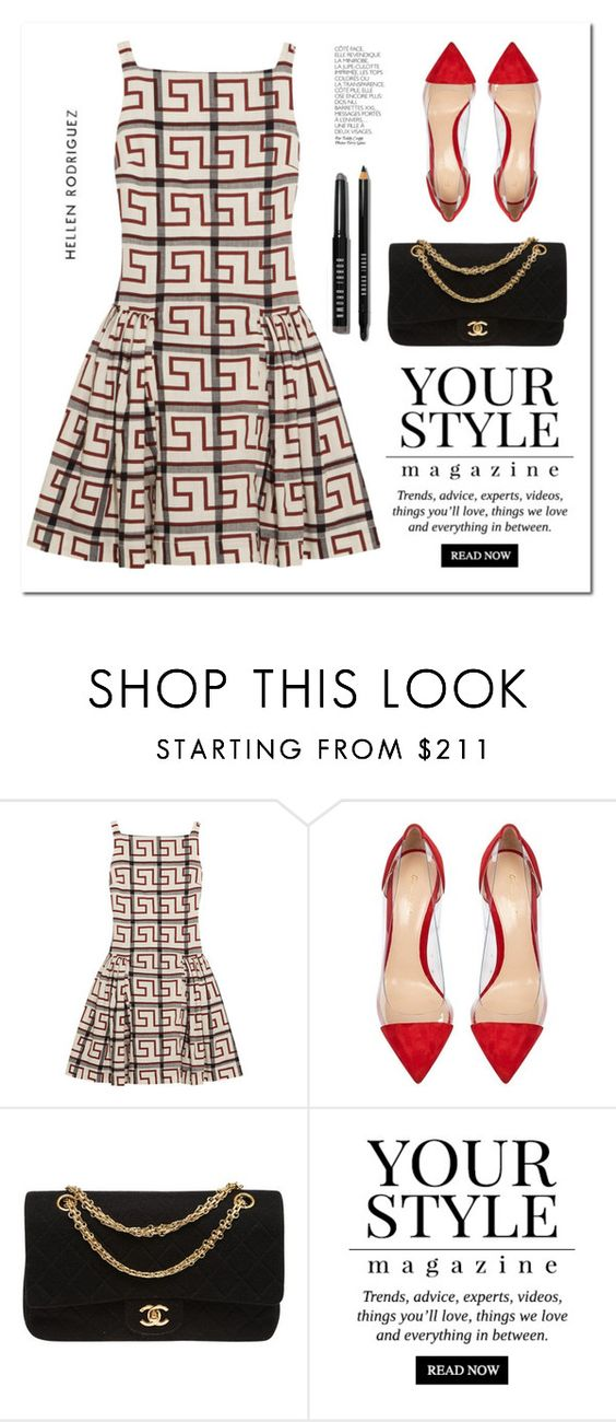 """""""PaGe 19/08"""" by lali22 ❤ liked on Polyvore featuring Vivienne Westwood Anglomania, Gianvito Rossi, Chanel, Pussycat, By Terry and Bobbi Brown Cosmetics"""