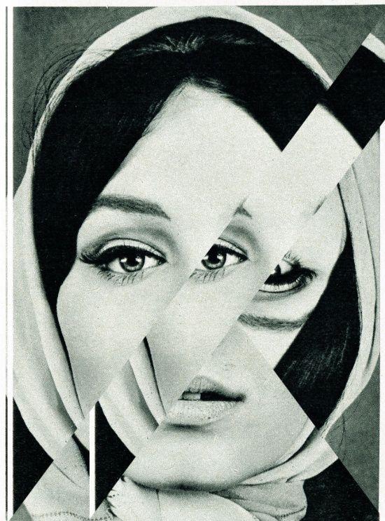 Frau mit Dreieck 1 Art Print