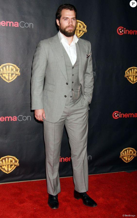 Henry Cavill à la soirée Warner Bros. Pictures à Las Vegas, le 21 avril 2015