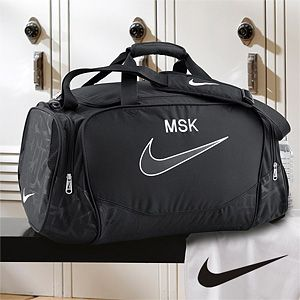 Personalized Gym Duffel Bag - Nike - Would also be great for overnight trips.: