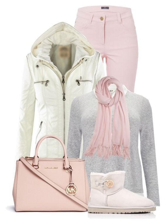 """Untitled #5101"" by cassandra-cafone-wright ❤ liked on Polyvore featuring Basler, Studio 8, Michael Kors and Calypso St. Barth"