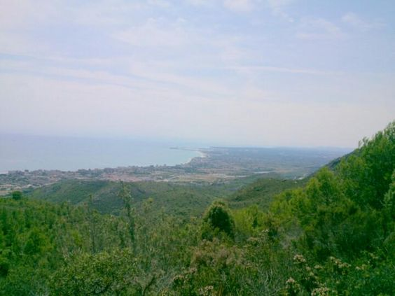 Vistas de #Benicassim desde Las Agujas de Santa Águeda