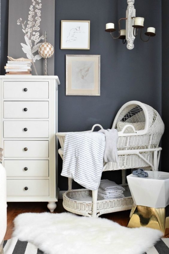 Favorite baby bassinets and ideas. Making room for baby - Nesting With Grace