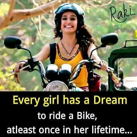 Yes My Biggest Dream Bike Ride Sanjana V Singh Friends