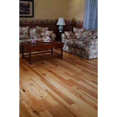 "Alston Inc. Natural 3.5"" Hardwood Flooring in Hickory"