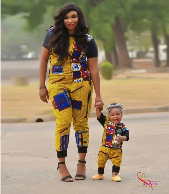 #6.Ankara Styles for Mother and Son