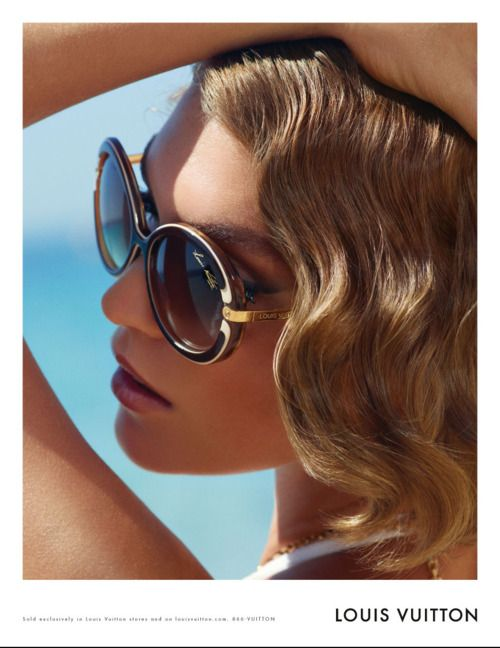 Arizona Muse For Loius Vuitton Cruise 2012 Campaign By Mark Segal. Finger waves reborn.