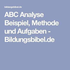 Abc Analyse Beispiel Abc Methode Anleitung Ubungen Abc Weiterbildung Zeitmanagement