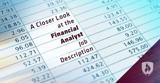 Becoming A Financial Analyst Investopedia Financial management - analyst job description