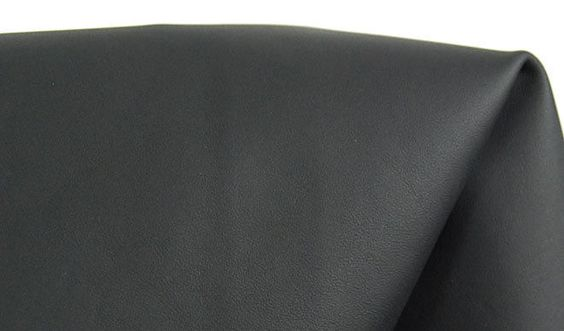 Rindsleder Nappa Autoleder matt-schwarz 1,2 mm  div. Größen Rindsnappa #a29