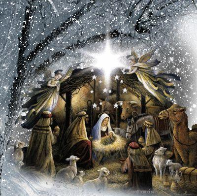 christmas night jesus gif - Google Search: