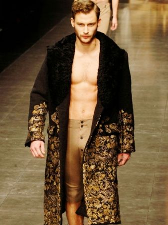 Desmond's outfit, if he finds himself shirtless for some reason. [baroque men fashion]