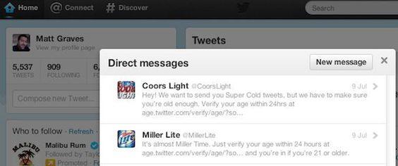 #Twitter implementará un control de protección para menores de edad #RedesSociales