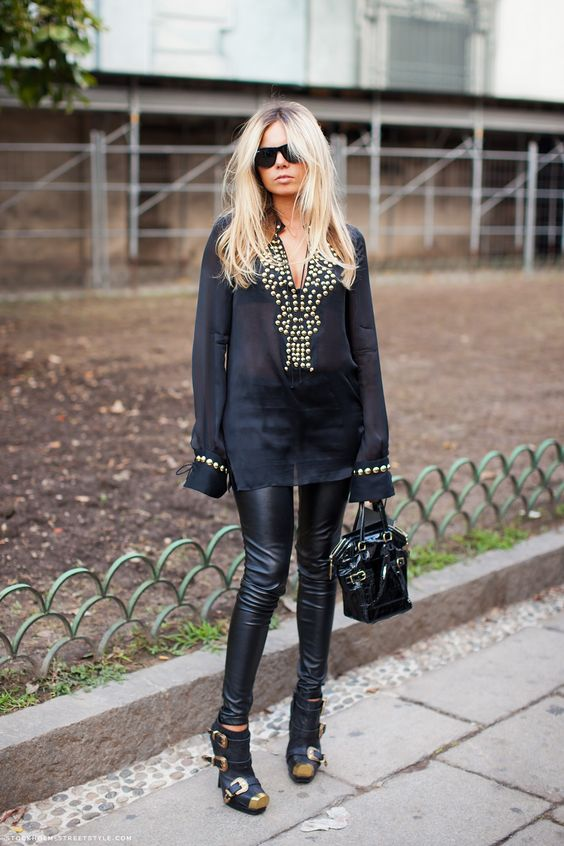Nice tunic with the studs.