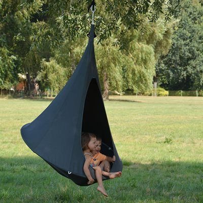 Bonsai Cacoon Kids Hanging Chair in Anthracite