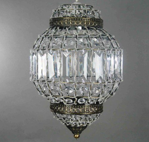 Classic Morrocan Lantern Style Antique Brass Clear Acrylic Ceiling Light  Shade Easy Fit Pendant by Dove Mill Lighting, http://www.amazon.co.uk/dp/Bu2026