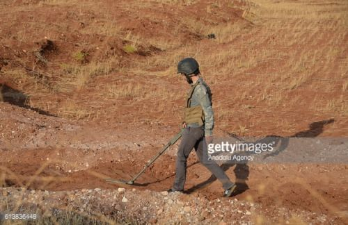 ALEPPO, SYRIA - OCTOBER 10: Members of opponent groups linked to... #mamaivcivillage: ALEPPO, SYRIA - OCTOBER 10: Members… #mamaivcivillage