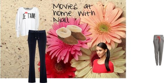 """""""Movie date with Niall"""" by kassidee999 on Polyvore"""