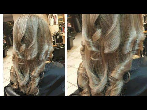 كوني حلاقة نفسك مع حياة توته بعلبة واحدة فقط تحصلي على أشقر فاتح رمادي مثل الصورة طبق الأصل ناجح Youtube Hair Styles Hair Long Hair Styles