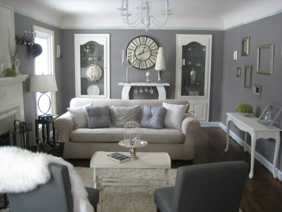 The Grey room, a formal living room