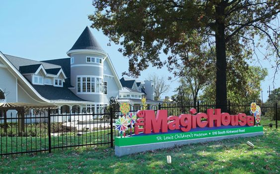 The Magic House-St. Louis Children's Museum, St. Louis, Missouri... I grew up going here and it's absolutely amazing!!!